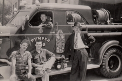 Local 5 mechanics, ca. 1955. Courtesy of Ed Thomas.