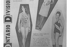 "A handful of Local 167 members regularly participated in ""Miss Local 167"" and ""Miss Hamilton Labour Union Beauty"" contests, October 1967. Courtesy of CUPE Ontario Division News, October 1967."