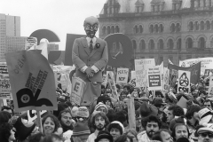 National Day of Protest against wage controls, 1981. Courtesy of CUPE National.