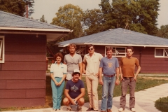 CUPE summer school at the United Auto Workers (now, Unifor) Education Centre in Port Elgin, Ontario, ca. 1985. Courtesy of CUPE Local 5167.