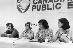 CUPE Saskatchewan Division Convention; Grace Hartman is second from left, ca. 1976. Courtesy of CUPE National.
