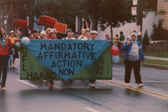 Hamilton Labour Day Parade, 1984. Courtesy of CUPE Local 5167.