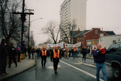 Days of Action in Hamilton, 1996. Courtesy of CUPE Local 5167.