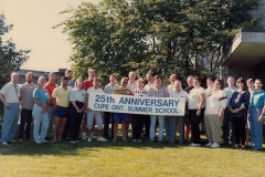 CUPE summer school 25th Anniversary celebration, 1998. Courtesy of CUPE Local 5167.