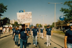 Hamilton Labour Day Parade, ca. 1993. Courtesy of Ed Thomas.