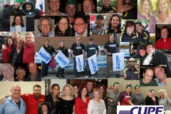 A collage of Local 5167 members, ca. 2013. Courtesy of CUPE Local 5167.