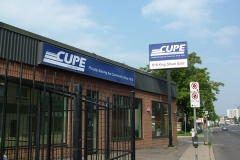 The offices at 818 King Street East, ca. 2014. Courtesy of CUPE Local 5167.
