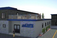 A rendering of CUPE Local 5167's new 2018 offices. Courtesy of CUPE Local 5167
