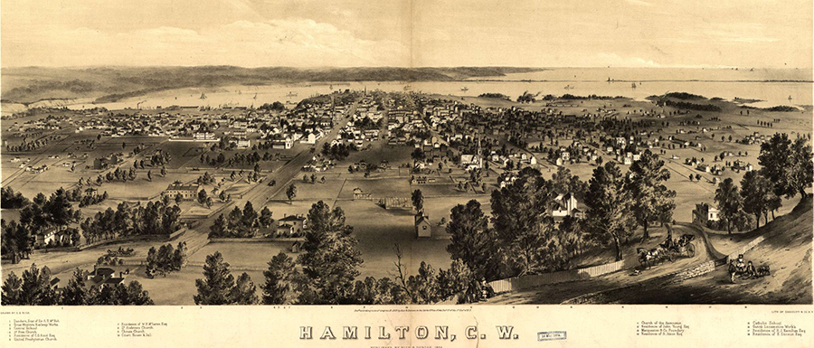 1859 - Hamilton. County Wentworth.