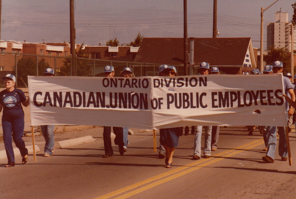 Labour Day parade and picnic, 1979.