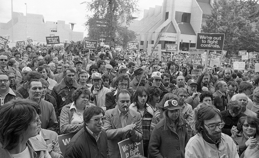 Fighting the cuts, 1976