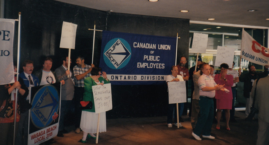 1993 Rally at City Hall