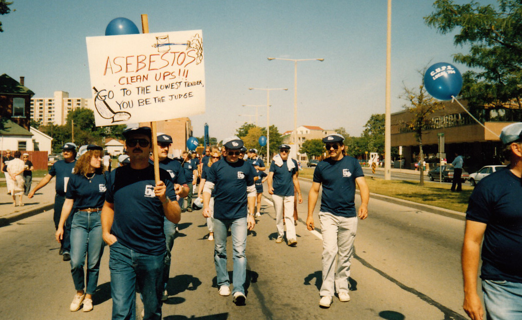 Early 1990s Labour Day